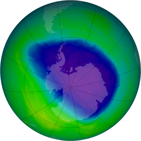 the factors contributing to the depletion of the o zone layer in the stratosphere The earth's ozone layer ozone layerthe region of the stratosphere containing the bulk of atmospheric ozone the ozone layer lies approximately 15-40 kilometers (10-25 miles) above the earth's surface, in the stratosphere.